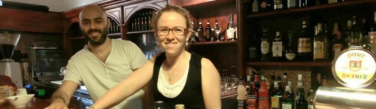 Il primo bar gestito da sordi.