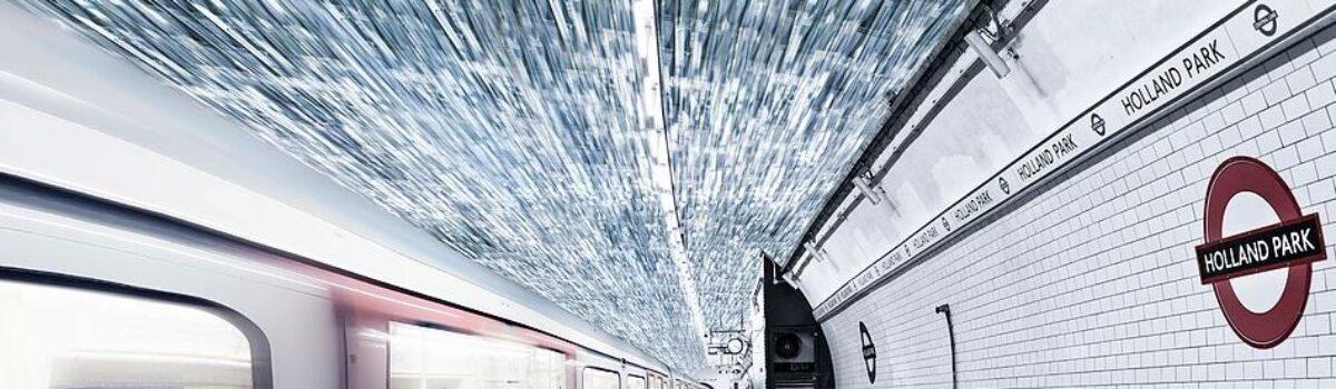 Nuova elettricità dal vento creato dai treni.